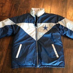 Dallas Cowboys Vintage Coat Reversible